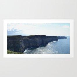Cliffs of Moher, Ireland Art Print