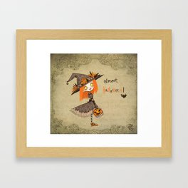 Almost Halloween!!!! Framed Art Print