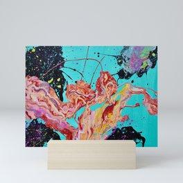 Splatter Pour Mini Art Print