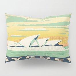Vintage poster - Sydney Pillow Sham