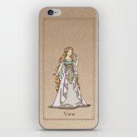 valar morghulis iPhone & iPod Skins featuring Vana by wolfanita