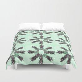 Pineapple time Duvet Cover