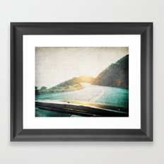Letters From the Road 2 Framed Art Print