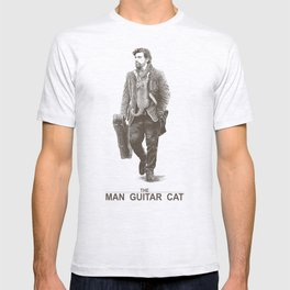 The Man Guitar Cat T-shirt