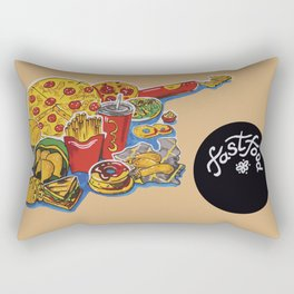 fastfood Rectangular Pillow