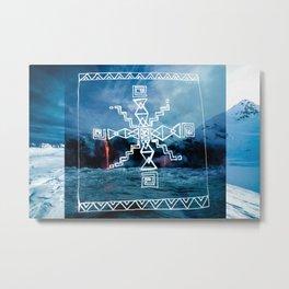 Coldwar Blanket. infn8. Metal Print