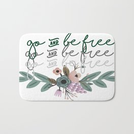 Go and Be Free Bath Mat