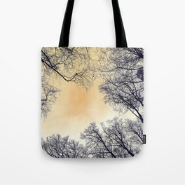 Infrared Forest Tote Bag