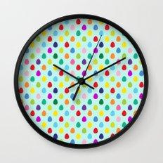 Mini Eggs Wall Clock