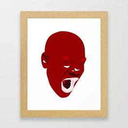 The HotHead Framed Art Print