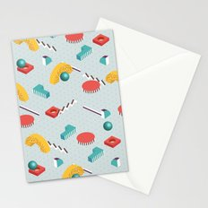 ABSTRACT GEOMETRIC PATTERN Stationery Cards