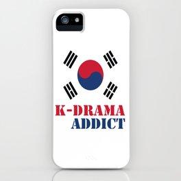 K-drama Addict iPhone Case