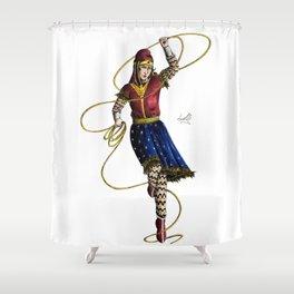 Scythian Woman of Wonder Shower Curtain