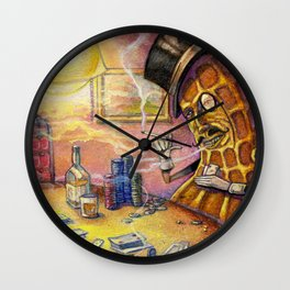 Lord Peanut Wall Clock