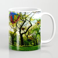 central park Mugs featuring Central Park by kpatron