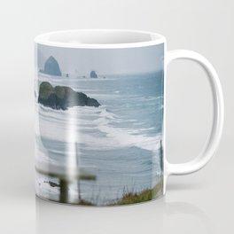 Haystack Rock view from Ecola 2 Coffee Mug