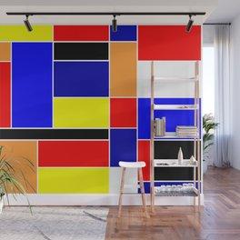 Mondrian #48 Wall Mural