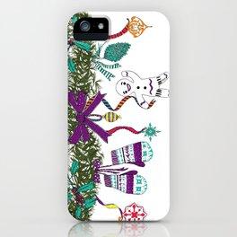 Christmas Garland I iPhone Case
