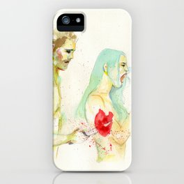 Why don't you love me? iPhone Case