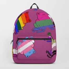 LGBTQ ~Frogs~ Backpack