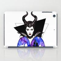 maleficent iPad Cases featuring Maleficent by Simona Borstnar