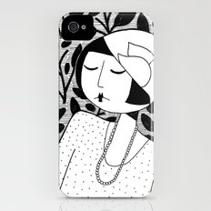 Ramona, lost in thought iPhone (4, 4s) Slim Case