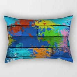 Messy Artist Rectangular Pillow