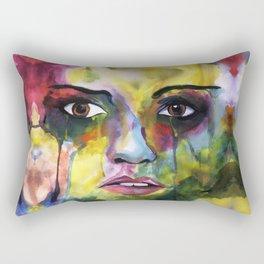 Feelings Expression Rectangular Pillow