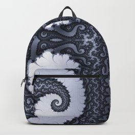 Fractal Art - Glacier I Backpack