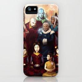 Aang and Katara's Legacy iPhone Case