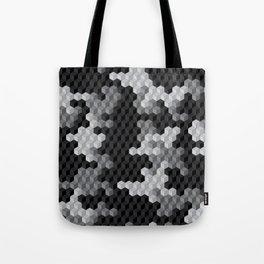 CUBOUFLAGE BLACK & WHITE Tote Bag