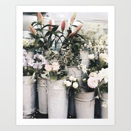 Flower Display Art Print