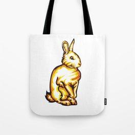 Angry Bunny Tote Bag