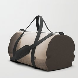Alone at the beach Duffle Bag