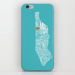Morningside Heights Love iPhone Skin