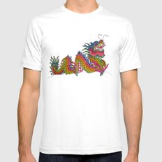 Dragon Mens Fitted Tee White SMALL