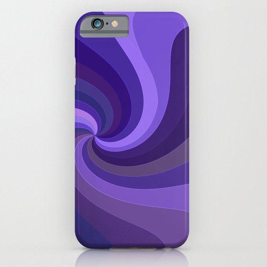 Purple Twirl One iPhone & iPod Case
