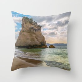 Beauty and the Rock Throw Pillow