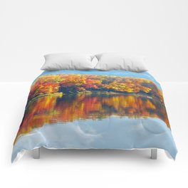 Autumn Colors at Lake Killarney Comforters