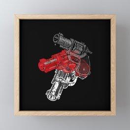 POP GUN Framed Mini Art Print
