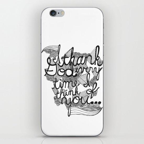 Thankful iPhone & iPod Skin