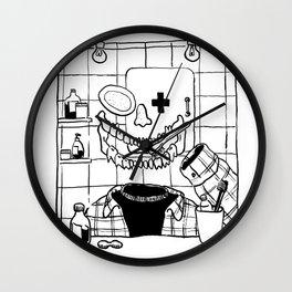 where is my head? Wall Clock