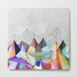 Colorflash 3 Metal Print