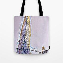New York FlatIron Fine Art 2 Tote Bag