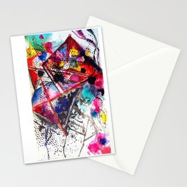 A Windy Day  Stationery Cards