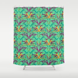 Tribal Pattern 4 Shower Curtain