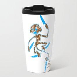 kitchen monkey Travel Mug