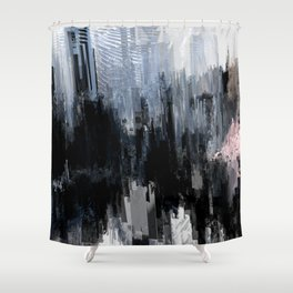 Tokyo in the Ice Age no. 8 Shower Curtain