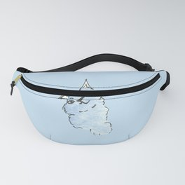 Kitty Blue Fanny Pack