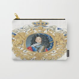 King Louis XIV Carry-All Pouch